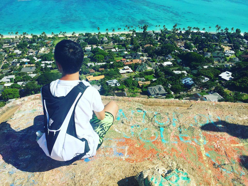 1日1ハワイ 私がハワイでしたいこと!Pillboxの頂上まで行くこと!