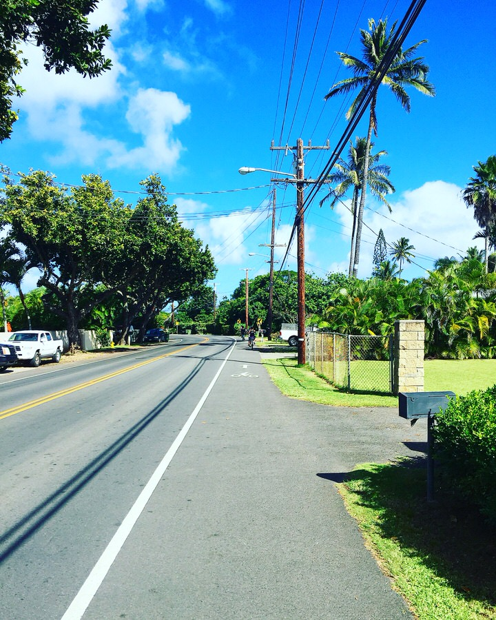 カイルアの道