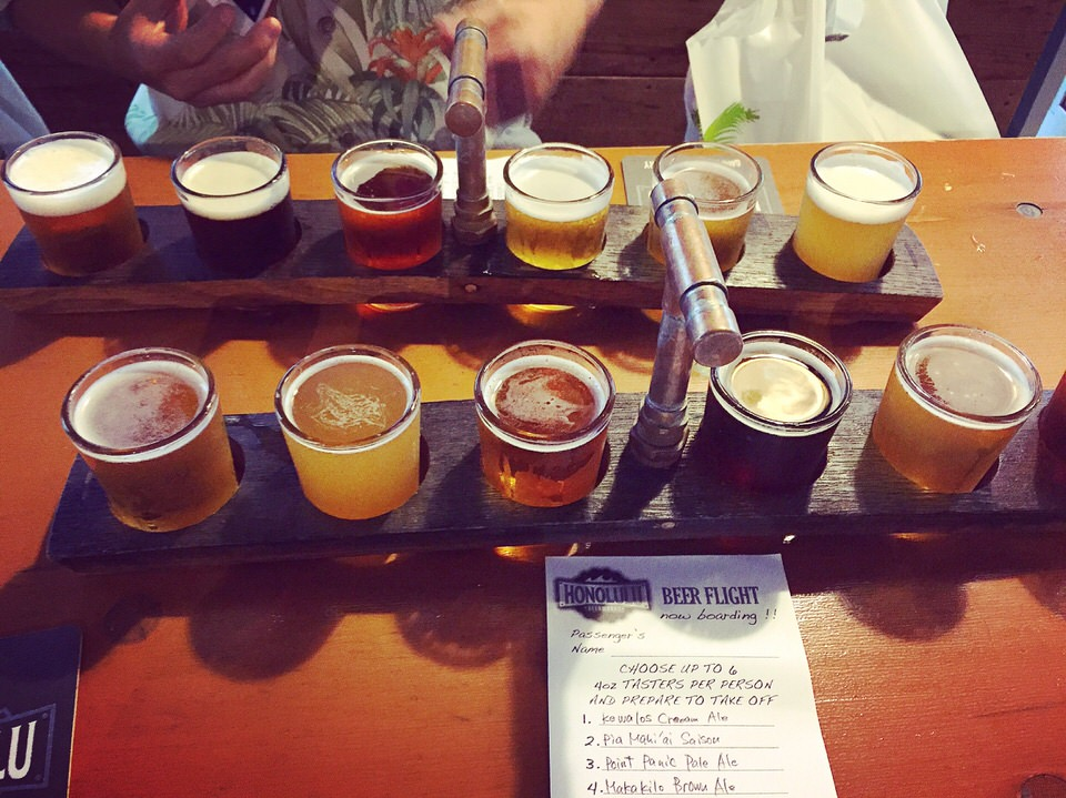 1日1ハワイ 私がハワイでしたいこと!Honolulu Beerworksでビールを飲むこと!