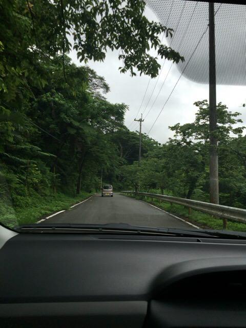 八重岳ベーカリー行く道