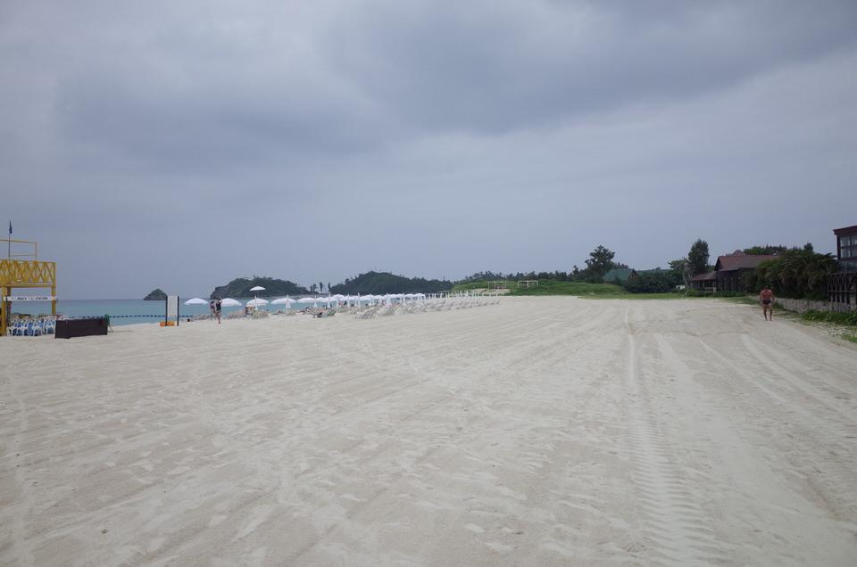オクマビーチ③