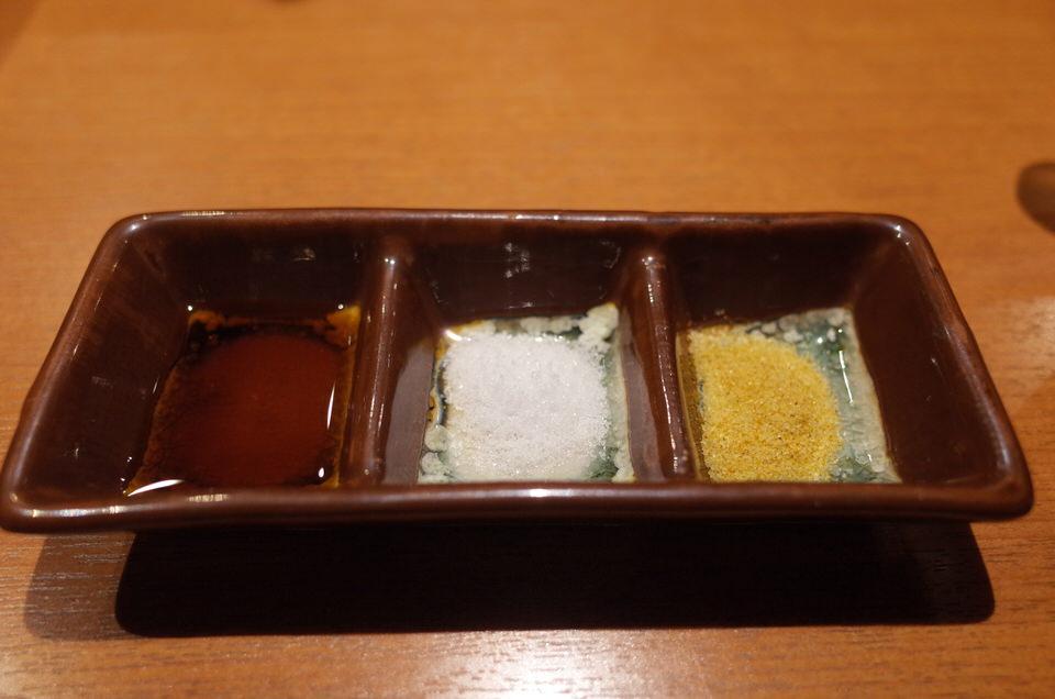 串揚げの塩