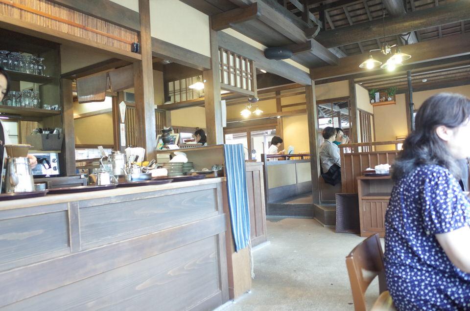 五十鈴川カフェ店内