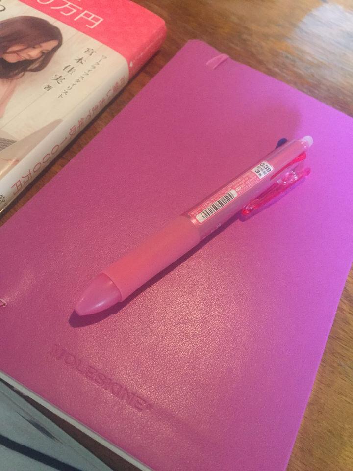 自問自答に最適。お気に入りのノートとペンを持とう。